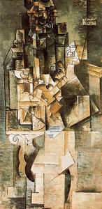 Pablo Picasso - Man with a guitar
