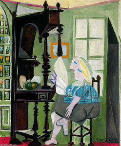 Pablo Picasso - Woman by the dresser