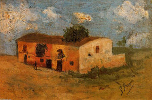 Pablo Picasso - House in the field