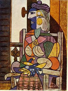 Pablo Picasso - Seated Portrait of Marie-Therese Walter