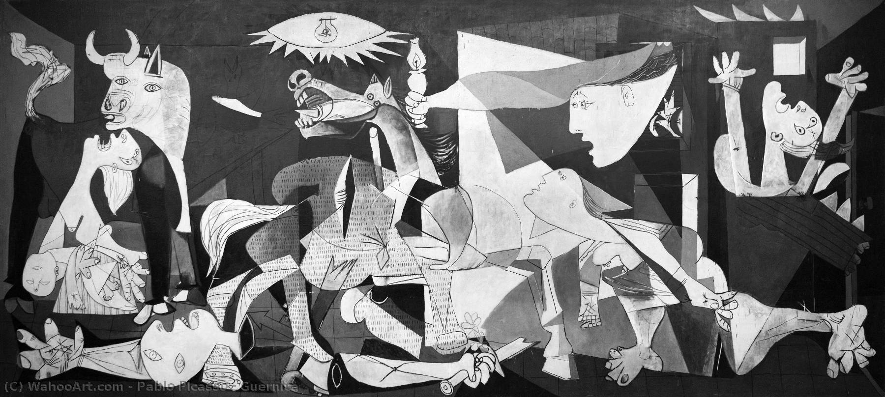 | Guernica by Pablo Picasso | AllPaintingsStore.com