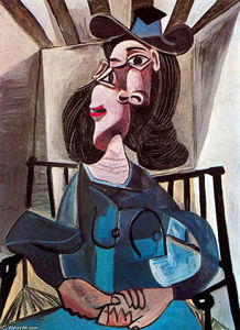 Pablo Picasso - Girl in chair