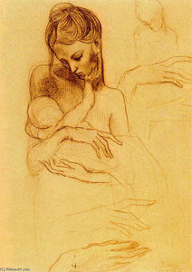 Pablo Picasso - Mother and Child (8)