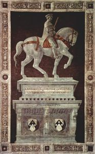 Paolo Uccello - Equestrian Monument of Sir John Hawkwood