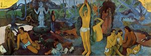 Paul Gauguin - Where Do We Come From. What Are We. Where Are We Going.