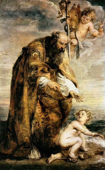 famous painting St. Augustine of Peter Paul Rubens