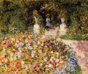 Pierre-Auguste Renoir - The Garden
