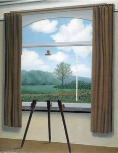 Rene Magritte - The human condition