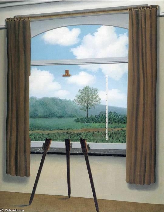 Order Oil Painting : The human condition by Rene Magritte | AllPaintingsStore.com