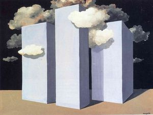 Rene Magritte - A storm