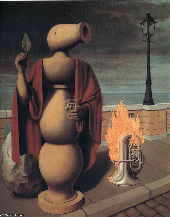 famous painting The Rights of Man of Rene Magritte