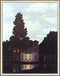 Rene Magritte - The empire of lights
