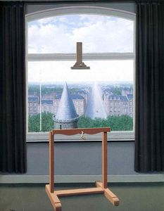 Rene Magritte - Where Euclide walked