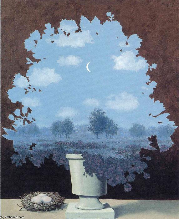 famous painting The land of miracles of Rene Magritte