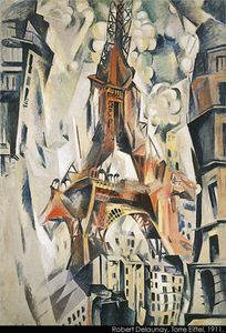 Robert Delaunay - Eiffel Tower