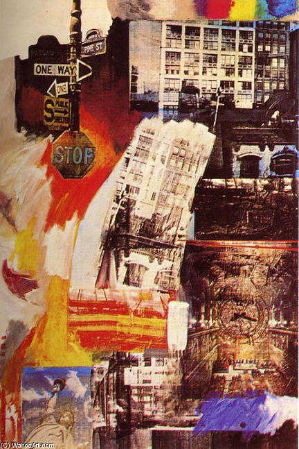famous painting Estate of Robert Rauschenberg