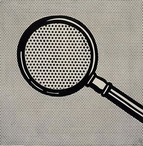 Roy Lichtenstein - Magnifying glass