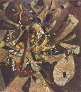 Salvador Dali - The Paranoiac-Critical Study of Vermeer's Lacemaker