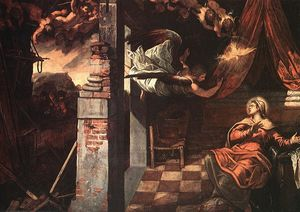 Tintoretto (Jacopo Comin) - Annunciation