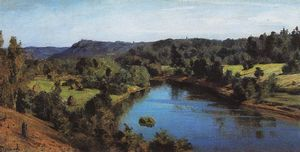Vasily Dmitrievich Polenov - The River Oyat