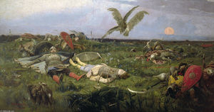 Victor Vasnetsov - After Prince Igor`s Battle with the Polovtsy