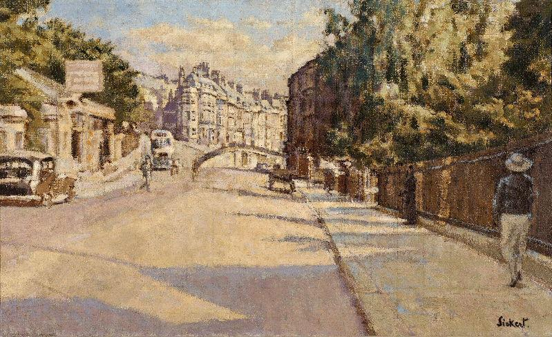famous painting London Street, Bath of Walter Richard Sickert