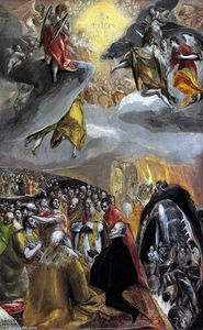 El Greco (Doménikos Theotokopoulos) - The Adoration of the Name of Jesus