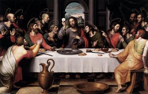 Juan De Juanes - The Last Supper