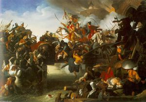 Johann Peter Krafft - The Attack of Zrinyi