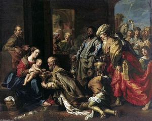 Theodoor Van Loon - The Adoration of the Magi