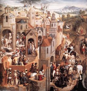 Hans Memling - Scenes from the Passion of Christ (detail) (8)
