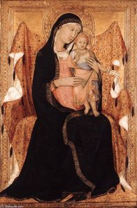 Lippo Memmi - Virgin and Child