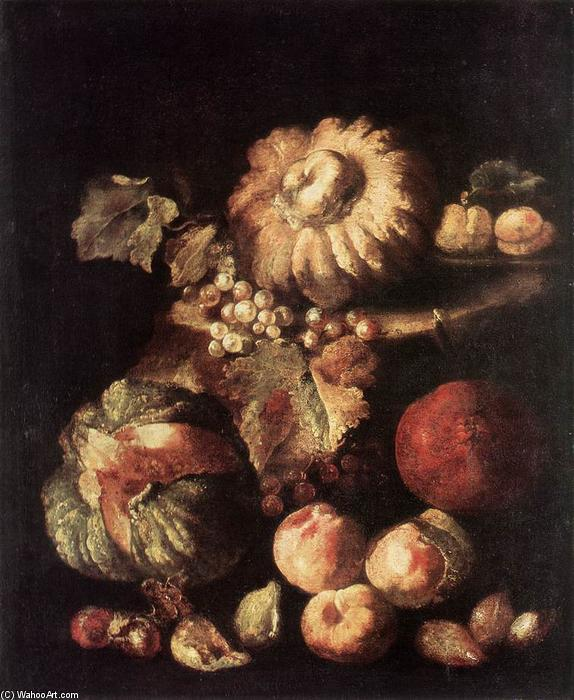 famous painting Fruit Still-Life of Giovanni Battista Ruoppolo