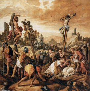 Joachim Beuckelaer - Christ on the Cross