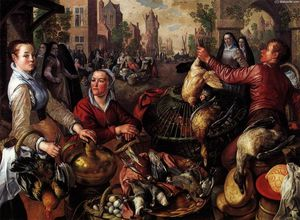 Joachim Beuckelaer - The Four Elements: Air