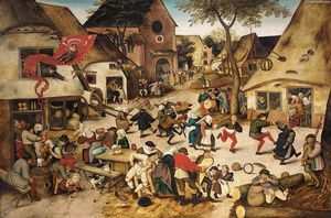 Pieter Bruegel The Younger - The Kermesse of St George