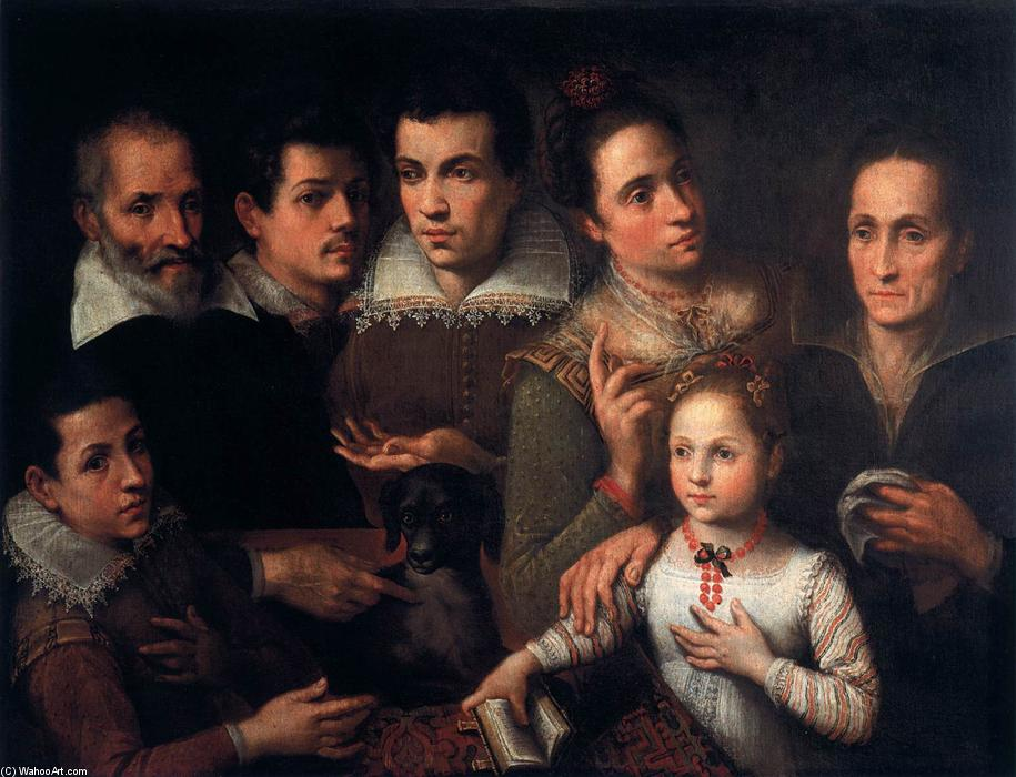 Famous Painting Family Portrait Of Lavinia Fontana