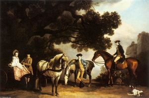 George Stubbs - The Milbanke and Melbourne Families