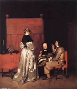 Gerard Ter Borch - Paternal Admonition