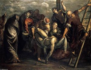 Tintoretto (Jacopo Comin) - The Deposition