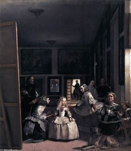 Diego Velazquez - Las Meninas or The Family of Philip IV