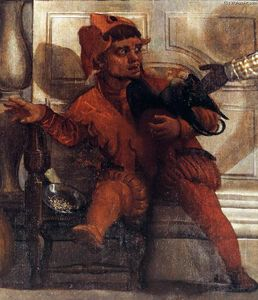 Paolo Veronese - Feast in the House of Levi (detail) (12)