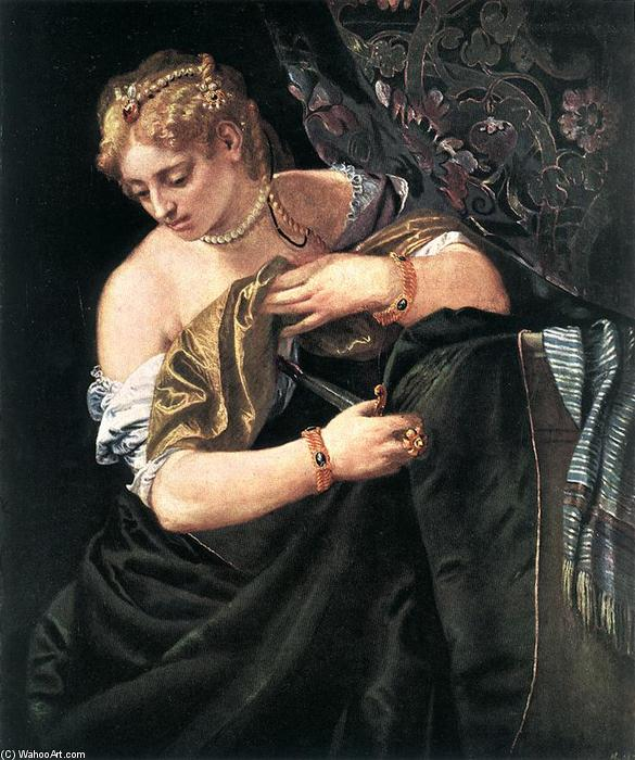 famous painting Lucretia of Paolo Veronese