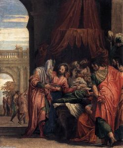Paolo Veronese - Raising of the Daughter of Jairus