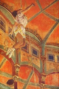 Edgar Degas - La La at the Cirque Fernando, Paris