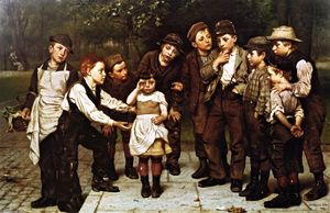 John George Brown - The Lost Child