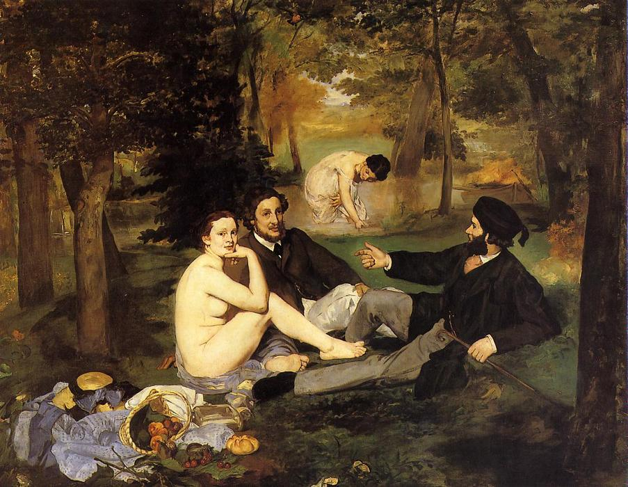 Order Art Reproductions | Luncheon on the Grass by Edouard Manet | AllPaintingsStore.com