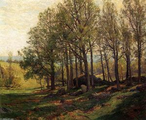 Hugh Bolton Jones - Maples in Spring