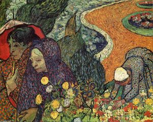 Vincent Van Gogh - Memory of the Garden of Eden