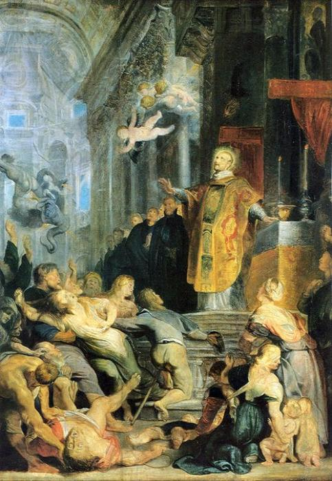 famous painting Miracle of St. Ignatius of Loyola of Peter Paul Rubens